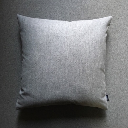 Pude 50x50, Baize møbelstof, grey