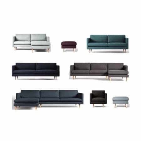 Marc sofa - design selv