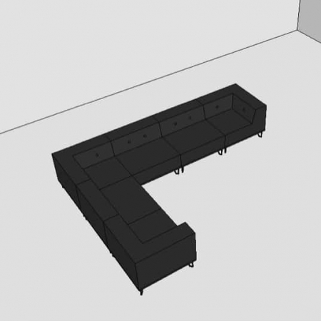 Nomad Dot modulsofa, 6 moduler