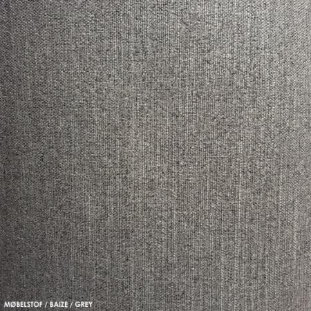 Møbelstof, baize, grey