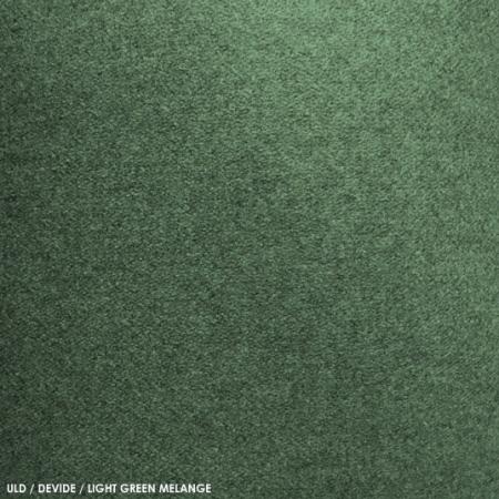 Uld, devide, lightgreen melange