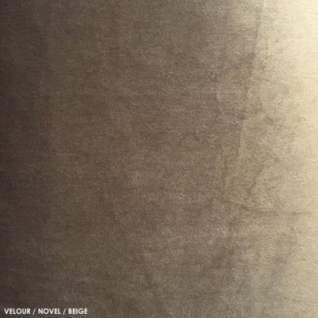 Velour, novel, beige