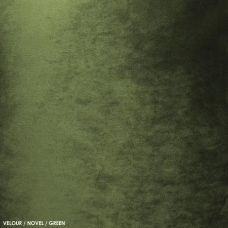 Velour, novel, green