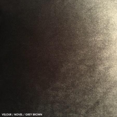 Velour, novel, greybrown