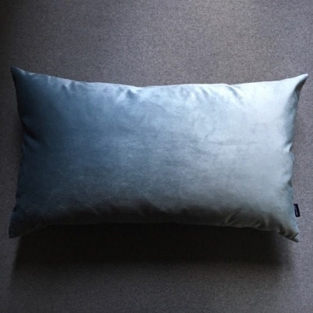Pude 40x70, Novel velour, light blue