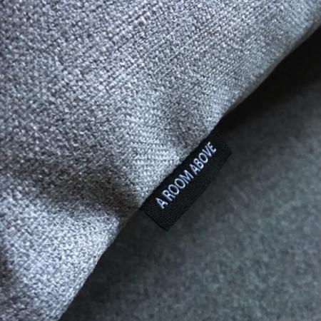 Pude 40x70, Baize møbelstof, light grey