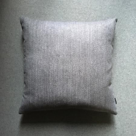 Pude 50x50, Ferb møbelstof, grey