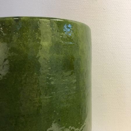Håndlavet urtepotte