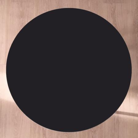 Circle sofabord, Charcoal