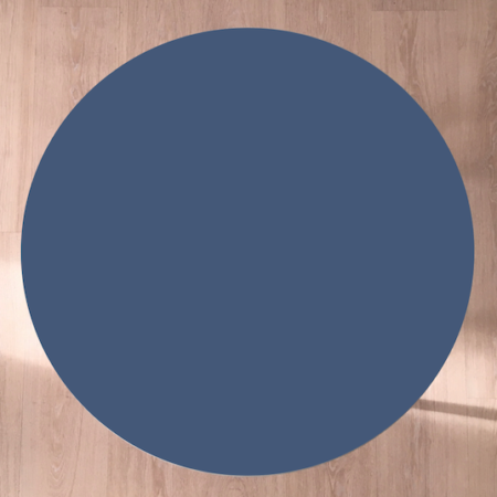 Circle sofabord, Midnight blue