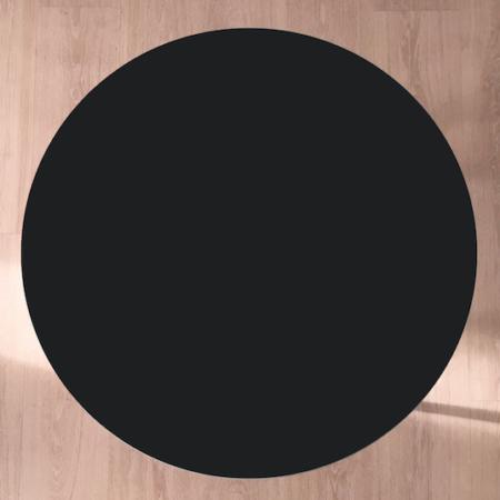 Circle sofabord, Nero