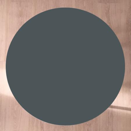 Circle sofabord, Pewter