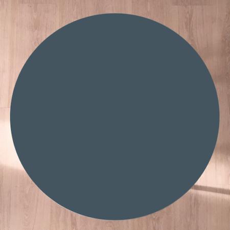 Circle sofabord, Smokey blue