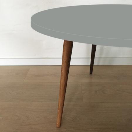 Circle sofabord, Ash