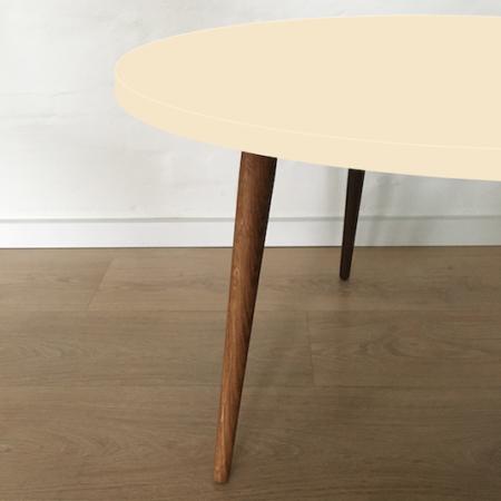 Circle sofabord, Pearl