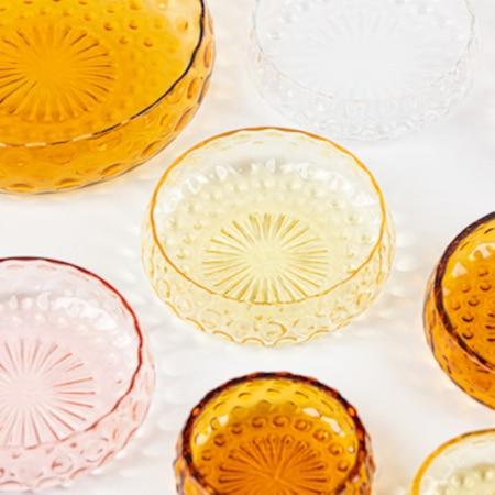 Mundblæst glas