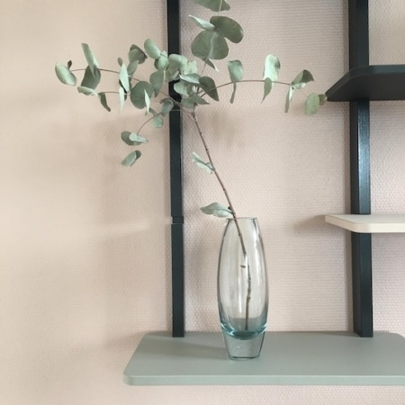 RETRO - Holmegaard glasvase