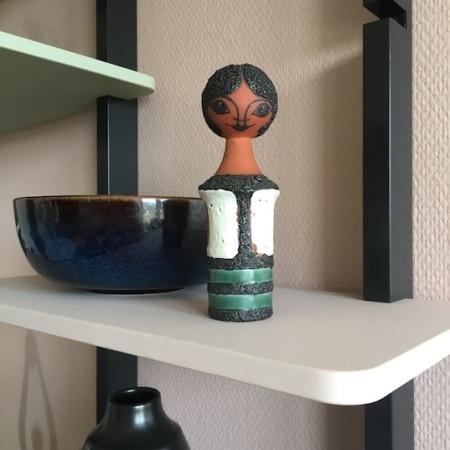 RETRO - Keramik kvinde, Kupittaan Savi, Finland